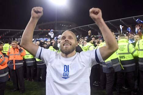 Teemu Pukki on tehnyt yhdeksän maalia EM-karsinnassa. Maanantaina Suomi kohtaa vielä Kreikan.