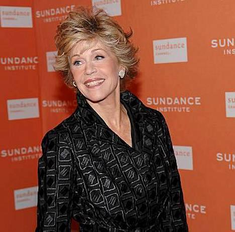 Jane Fondalle pukkaa vaalistressiä niin, että selkäkin kramppaa.