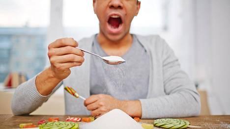 Liika sokeri ei ole terveydelle hyväksi.