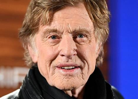 Robert Redford kuvattiin Park Cityssä, Utahissa 18. tammikuuta 2018.