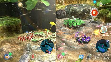 Pikmin 3 Deluxe muistuttaa, että kaksin aina kaunihimpi. Ruohonjuuritasolle vievän strategiapelien helmen pelaaminen imee vastustamattomasti puoleensa, kun pähkäilemään pääsee yhdessä.