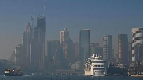 Savusumu on heikentänyt Sydneyn ilmanlaatua.