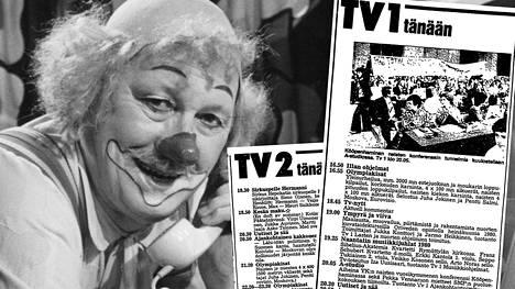 40 vuotta sitten tv:ssä seikkailivat paitsi urheilijat myös Pelle Hermanni.
