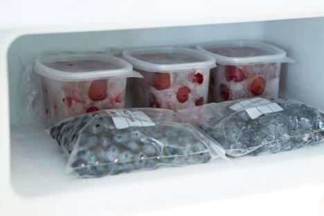 Onhan pakastimessasi tarpeeksi tilaa marjoille?