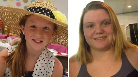 Abigail Williams, 13, ja Liberty German, 14, surmattiin kaksi vuotta sitten.