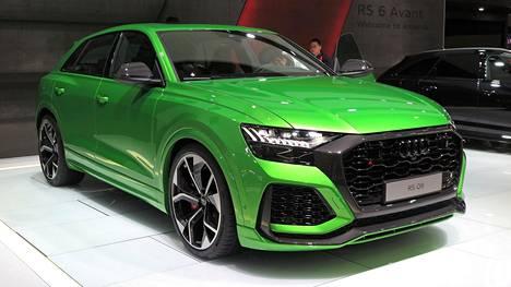 Audi RS Q8 ei piilottele mitään vaan paljastaa aggressiivisella ulkonäöllään olevansa uusi kukkulan kuningas – ainakin Audin katumaasturimallistossa.
