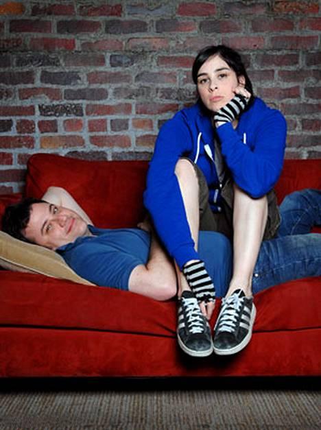 Jimmy Kimmel ja Sarah Silverman ovat eronneet kahdesti vuoden sisällä.