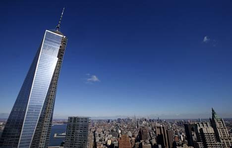 Uusi pilvenpiirtäjä on kohonnut WTC-iskujen paikalle Manhattanilla.