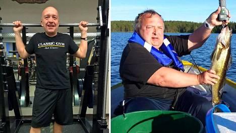 Kuntosalista innostunut Arto Mäläskä on muuttunut mies.