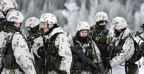 Maavoimien vaikuttamisharjoitus pidettiin Rovajärven ampuma-alueella Rovaniemellä 24. marraskuuta 2016.