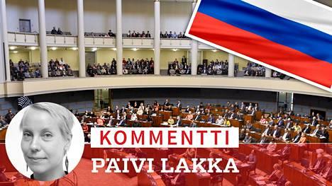 Venäjä-suhteet nähdään presidentin ja ulkoministerin alueena.