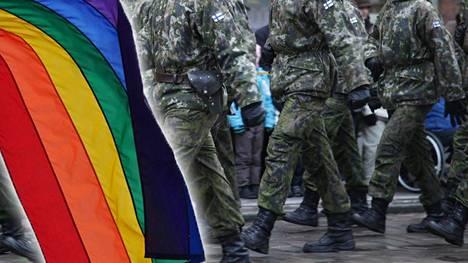 Puolustusvoimat on veivannut ees ja taas suhtautumistaan siihen, voiko Prideen osallistua virkapuvussa vai ei.