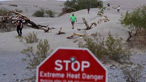 Viime viikolla Yhdysvaltojen länsiosissa rikottiin useita lämpöennätyksiä.