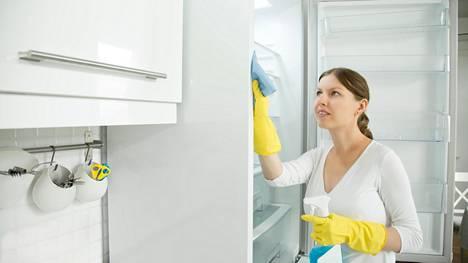 Jääkaapin siivous on myös turvallisuusteko.