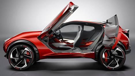 Nissan Gripz suunniteltiin pieneksi katumaasturiksi 2015, ja sen piti näyttää, mitä asiakkaat haluavat 2020. Tänä tai ensi vuonna paljastetaan uusi Nissan Juke ja silloin nähdään, kuinka lähellä totuutta konsepti oli.