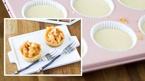 Omenakinuski viimeistelee ihanat leivonnaiset.