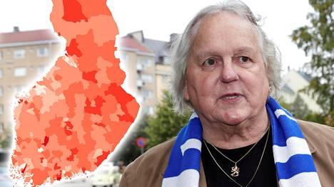 Eläkeläinen Markku Kuutti haluaa neliöiltään pienen asunnon.