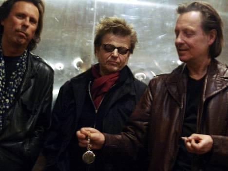 Dave Lindholm, Affe Forsman ja Pave Maijanen vuonna 2005.