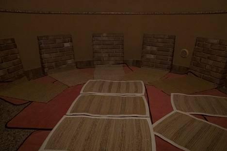 Korealaisessa saunassa maataan tai istutaan.