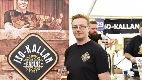 Iso-Kallan Panimon toimitusjohtaja Pasi Pelkonen toteaa, että olut kuuluu nykyään ruokapöytään.