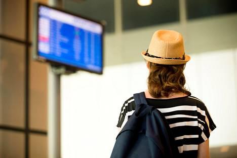 Lataa sovellus, joka kertoo, miltä portilta lentosi lähtee.