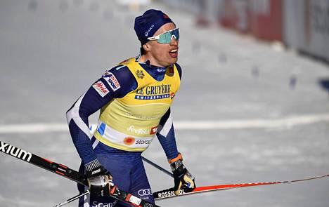 Iivo Niskanen hiihti hopealle Seefeldissä.