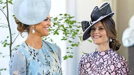Prinsessa Madeleine ja prinsessa Sofia sädehtivät Victorian syntymäpäiväviikonloppuna.