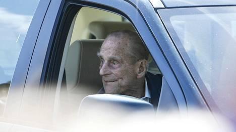 Prinssi Philipin autoilu on ollut viime päivinä puheenaihe. Arkistokuva.