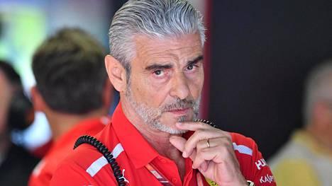 Maurizio Arrivabene jättää Ferrarin.