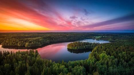 Kyllä Suomen luonto on kaunis!