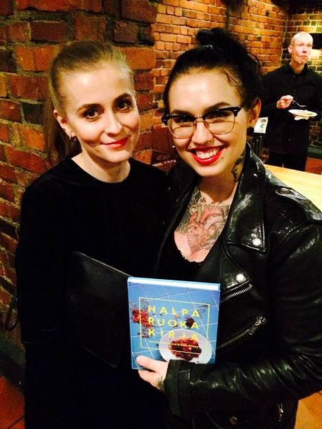 Alisa Wilska (vas.) ja Natalia Tolmatsova kertovat uudessa keittokirjassaan Halparuokakirja (no tofu publishing) vinkit halpaan syömiseen herkuttelua unohtamatta.