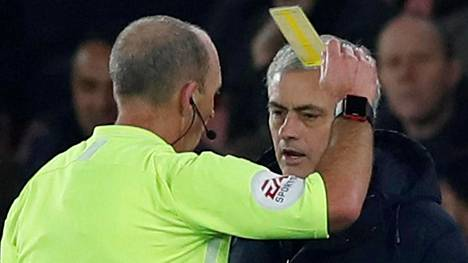 José Mourinho näki keskiviikkona keltaisen kortin ja saamattoman Tottenhamin.