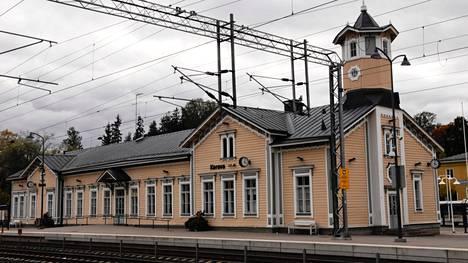 Keravan rautatieasema.