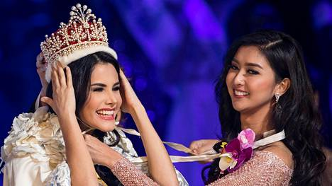 Venezuelalainen missikaunotar Mariem Claret Velaszco kruunattiin Miss Internationaliksi.