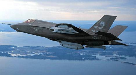 Kuvassa Lockheed Martin –yhtiön toteuttama F-35.