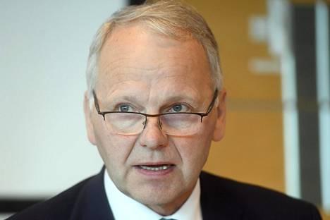 Maa- ja metsätalousministeri Jari Leppä (kesk).