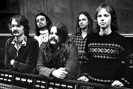 Wigwam 1977: Groundstroem, Pembroke, Hietanen, Rechardt ja Österberg.