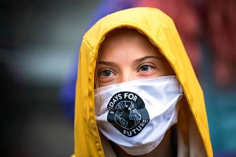 Ruotsalainen 18-vuotias Greta Thunberg on kansainvälisesti tunnettu ilmastoaktiivi.
