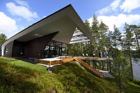 Wave-talo Mikkelin asuntomessuilla heinäkuussa 2017.