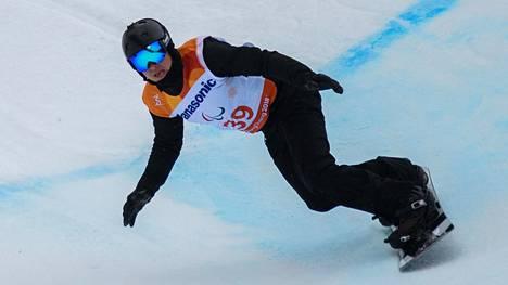 Matti Suur-Hamari laski pronssia.