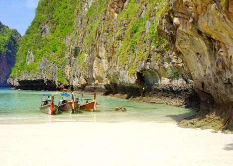 Thaimaa on kaukokohteiden suosikki.