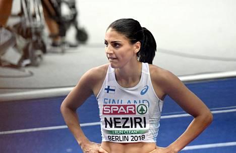 Neziri sijoittui lopulta yhdeksänneksi EM-kisoissa.