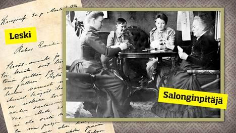 Minna Canth kirjoitti paljon kirjeitä, ja niistä välittyy eloisa kuva hänen persoonastaan. Kanttila oli yksi Kuopion seuraelämän keskuksista. Minnan salongissa keskusteltiin, pelattiin skruuvia ja juotiin kahvia.