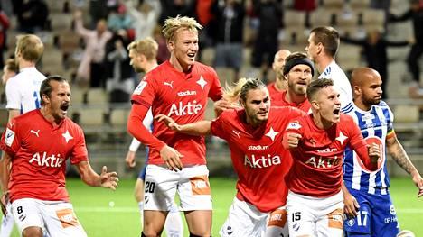 HIFK löi HJK:n Stadin derbyssä.