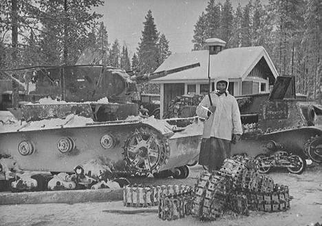 Suomalaiset saivat paljon sotasaalista.