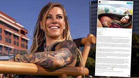 Eva Wahlström kertoi sosiaalisessa mediassa raskausajan vaivoistaan.