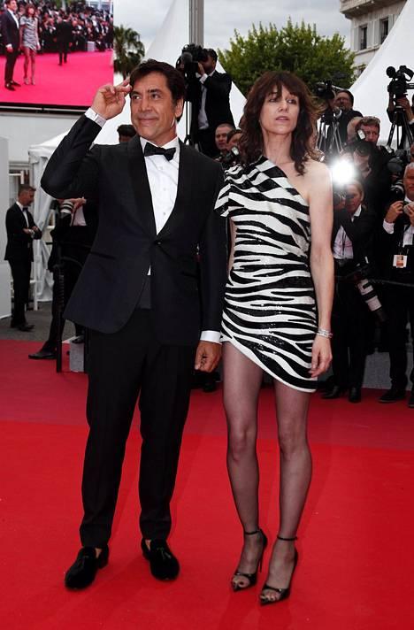 Näyttelijät Charlotte Gainsbourg ja Javier Bardem.