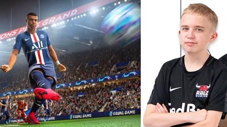Anders Vejrgang, 15, takoi hurjan ennätyksen Fifa-pelissä. Komea voittoputki päättyi yllättävään murskatappioon.