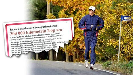 Simo Nikula on tutkinut suomalaisten kestävyysurheilijoiden harjoitusmääriä.