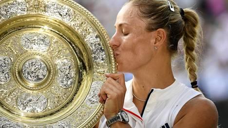 Serena Williamsin himoitsema voitto jäi haaveeksi – Angelique Kerber voitti ensimmäisen Wimbledonin mestaruutensa